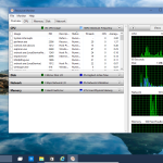 Windows 10 Disk, CPU Network Performance Monitoring RESMON (also Windows 8.1)