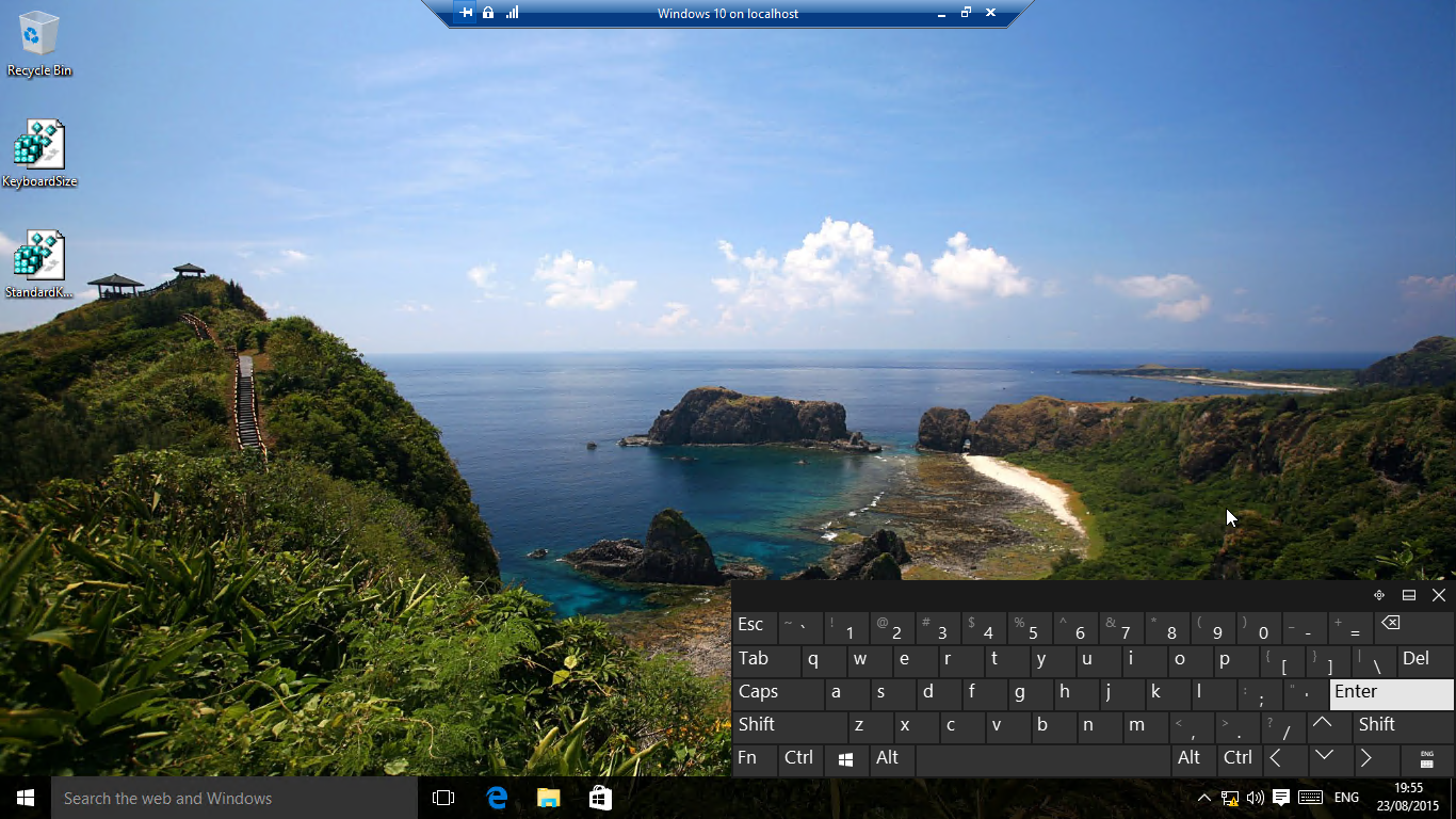 Windows 10 And 8 1 Touch Keyboard Resize And Modify Video Tutorial