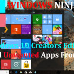 Windows 10 Creators Edition Stop All Unwanted Apps From Store (new methods)